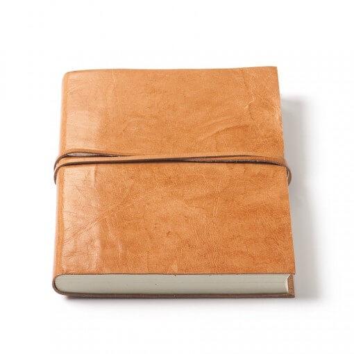Nkuku Rustic leren notitieboek